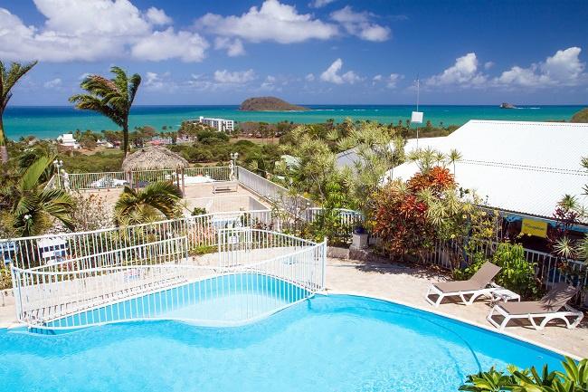 Gwada CaraibesBonheurPiscine1 Un petit coin de Bonheur aux Caraïbes !