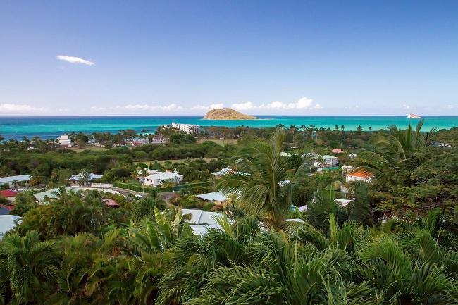 Gwada CaraibesBonheurVueTerrassePrincipale Un petit coin de Bonheur aux Caraïbes !