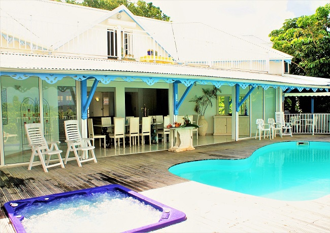 Gwada Villa3 Un petit coin de Bonheur aux Caraïbes !